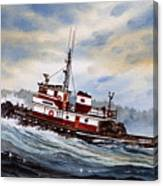 Tugboat Earnest Canvas Print