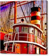 Tugboat Helen Mcallister Canvas Print