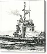 Tugboat Kelly Foss Canvas Print