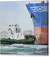 Tugboat Leo Foss Canvas Print