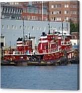 Tugs At Rest Canvas Print