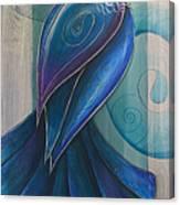 Tui Bird 3 Canvas Print