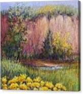 Tularosa Bluff Canvas Print
