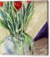 Tulip Bouquet - 11 Canvas Print