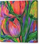 Tulip Edge Canvas Print