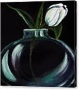 Tulip In A Vase Canvas Print