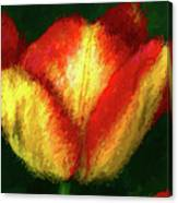 Tulip Painting Canvas Print
