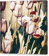 Tulip Sheltered Canvas Print