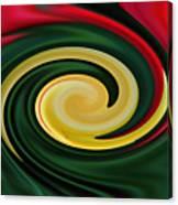 Tulip Swirl Canvas Print