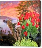 Tulip Town 19 Canvas Print
