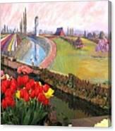 Tulip Town 21 Canvas Print