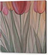 Tulips For Carol Canvas Print