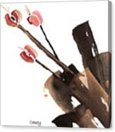 Tulips Three Canvas Print