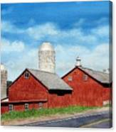 Tulmeadow Farm Canvas Print
