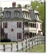 Tulpehocken Manor Plantation Historic Site  Canvas Print
