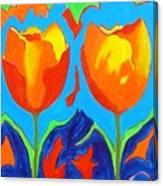 Tulpen 80 Canvas Print