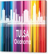 Tulsa Ok 2 Vertical Canvas Print