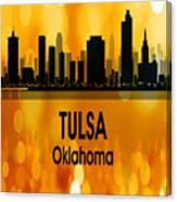 Tulsa Ok 3 Vertical Canvas Print