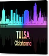 Tulsa Ok 5 Vertical Canvas Print