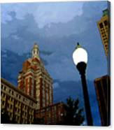 Tulsa Streetscape Canvas Print