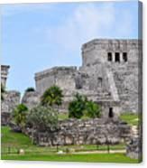 Tulum Mayan Ruins Canvas Print