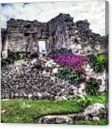 Tulum Temple Ruins No.2 Canvas Print