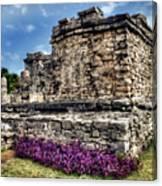 Tulum Temple Ruins Canvas Print