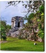 Tulum Watchtower Canvas Print