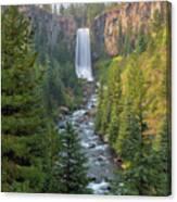 Tumalo Falls In Bend Oregon Canvas Print