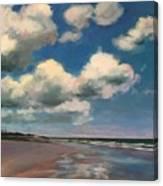 Tumbling Clouds Canvas Print