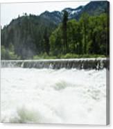 Tumwater Dam Canvas Print