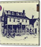 Tun Tavern - Birthplace Of The Marine Corps Canvas Print