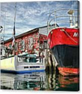 Tuna Fishing In Gloucester Canvas Print