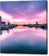 Tuna Harbor Sunrise Canvas Print