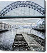 Tyne Bridge, Newcastle Canvas Print