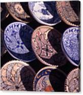 Tunisian Ceramics Canvas Print