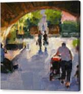 Tunnel In Central Park Canvas Print