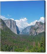 Tunnel View Panorama  Canvas Print