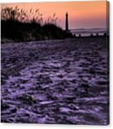 Turbulant Sands Canvas Print