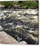 Turbulent Dalles Rapids Canvas Print