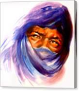 Tureg Man Canvas Print