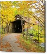 Turkey Jim's Covered Bridge Canvas Print