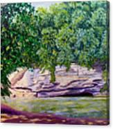 Turkey Run Park Canvas Print