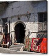 Turkish Carpet Shop Canvas Print
