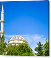 Turkish Mosque Canvas Print