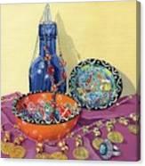 Turkish Still Life Canvas Print