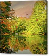 Turn Of River Canvas Print