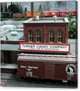 Turner Candy Co Canvas Print
