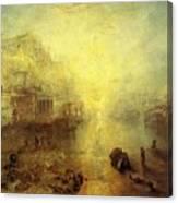 Turner Joseph Mallord William Ancient Italy Ovid Banished From Rome Joseph Mallord William Turner Canvas Print