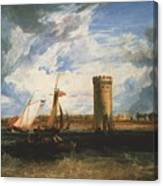 Turner Joseph Mallord William Tabley The Seat Of Sir Jf Leicester Joseph Mallord William Turner Canvas Print